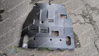 """Защита двигателя Mitsubishi Lancer 10 (под бампер) (2007->)     """"Titanium"""""""