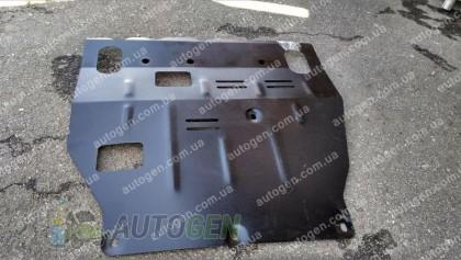 """Titanium DV Защита двигателя Mitsubishi Lancer 10 (+радиатор) (2007-2018)  """"Titanium"""""""