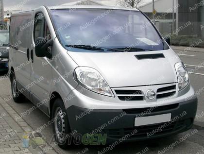 Защита двигателя Nissan Primastar (2001->) Titan