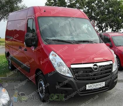 Защита двигателя Opel Movano (2010->)