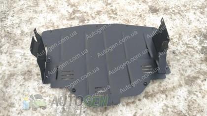 """Titanium DV Защита двигателя Opel Movano B (2010->) (с ушами) """"Titanium"""""""