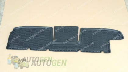 Коврики салона Opel Vivaro (2014->) (второй ряд 1шт) (Avto-Gumm)