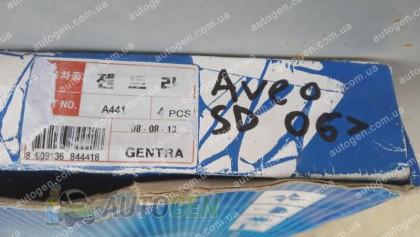 Auto clover Хром Ветровики ЗАЗ Vida SD (2012->) KR Хром Распродажа!