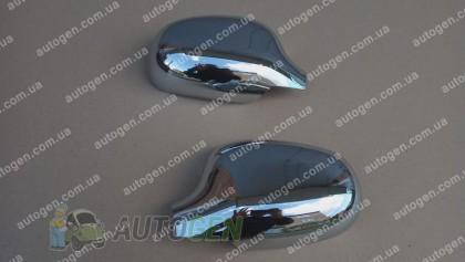 Auto clover Хром Накладки на зеркала Daewoo Lanos, Sens (1997->) KR Хром