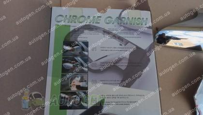 Auto clover Хром Накладки на зеркала Kia Sorento (2006-2009) с поворотником KR Хром