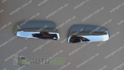 Auto clover Хром Накладки на зеркала Chevrolet Aveo SD (2006-2011) KR Хром