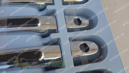 Auto clover Хром Накладки на ручки Kia Sorento (2009-2015) KR Хром