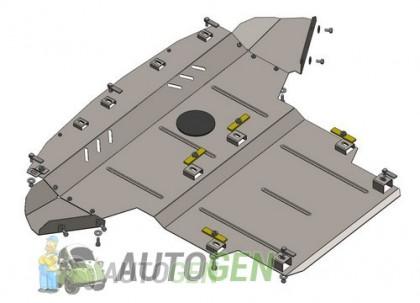 """Titanium DV Защита двигателя Renault Scenic 4 (2016->) """"Titanium"""""""