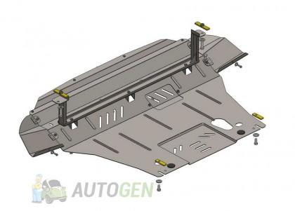 """Titanium Защита двигателя Toyota Highlander 1 (2001-2008)     """"Titanium"""""""