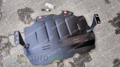 """Titanium Защита двигателя Volkswagen Touran 1  (2003-2015)    """"Titanium"""""""
