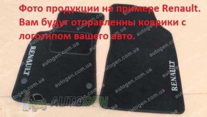 Vorsan Коврики салона SsangYong Korando (2010-2019) (текстильные Черные) Vorsan