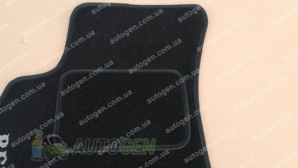 Vorsan Коврики салона SsangYong Rexton (2006-2012) (текстильные Черные) Vorsan