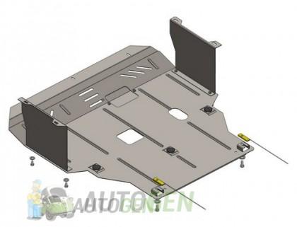 """Titanium Защита двигателя Infiniti QX56 (Z62) (2010-2013) """"Titanium"""""""