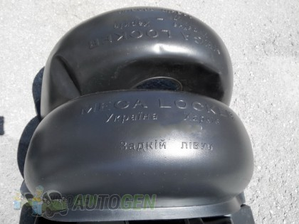 Mega-Locker Подкрылки Kia Shuma (2001-2004) (задние 2шт) (Mega-Locker)