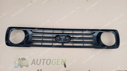 Автопластик Решетка радиатора ВАЗ Нива 2121, 21213 Urban оригинал черная