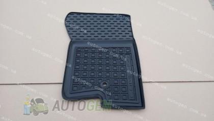 Avto-gumm Передние (2шт) Коврики салона Jeep Patriot (2007-2016) (тип 2 - 2 клипсы) (передние 2шт) (Avto-Gumm)
