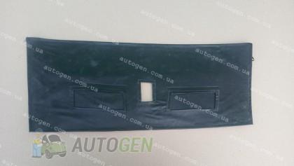 Утеплитель решетки радиатора ВАЗ 2108, ВАЗ 2109, ВАЗ 21099 (короткое крыло) мягкий черный