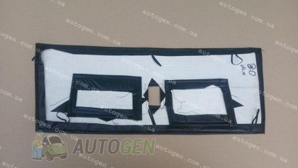 F-Style Утеплитель решетки радиатора ВАЗ 2108, ВАЗ 2109, ВАЗ 21099 (короткое крыло) мягкий черный