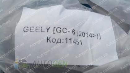 Avto-gumm (к-т) Коврики салона Geely GC6 (2014->) (5шт) (Avto-Gumm)