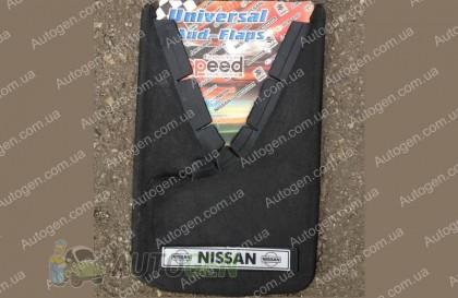 брызговики универсальные с надписью Nissan