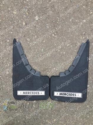 Mud pl (с логотипом) Брызговики универсальные Mercedes ( 2шт.) (с надписью)