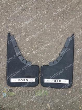 Mud pl (с логотипом) Брызговики универсальные Ford ( 2шт.) (с надписью)