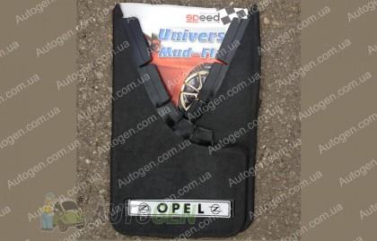 брызговики универсальные с надписью Opel