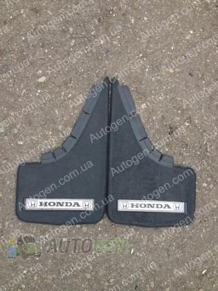 Mud pl (с логотипом) Брызговики универсальные Honda ( 2шт.) (с надписью)