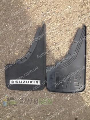 Mud pl (с логотипом) Брызговики универсальные Suzuki ( 2шт.) (с надписью)