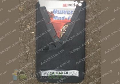 брызговики универсальные с надписью Subaru