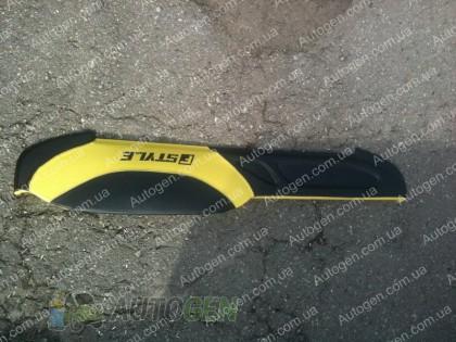 Накладка на панель ВАЗ 2105, ВАЗ 2104 желтая