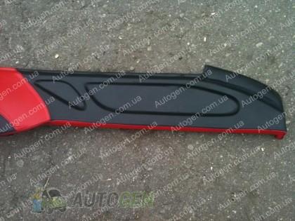 F-Style Накладка на панель ВАЗ 2107, 2104 нового образца красная