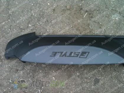 F-Style Накладка на панель ВАЗ 2107, 2104 нового образца серая