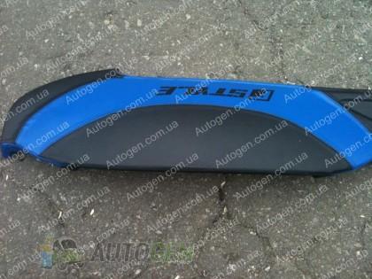 F-Style Накладка на панель ВАЗ 2107, 2104 нового образца синяя
