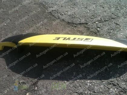 F-Style Накладка на панель ВАЗ 2107, 2104 нового образца желтая