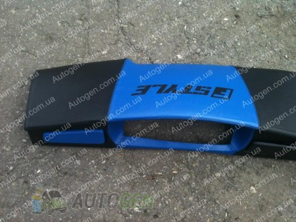 F-Style Накладка на панель ВАЗ 2108, ВАЗ 2109 низкая панель синяя