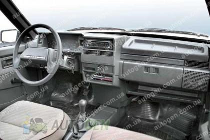 F-Style Накладка на панель ВАЗ 21099, ВАЗ 2109 черная высокая панель