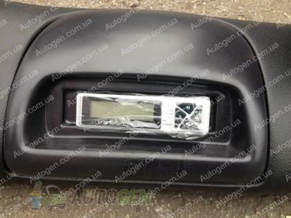 Автопластик Накладка на панель торпеда ВАЗ 2108, ВАЗ 2109 тюнинг с часами