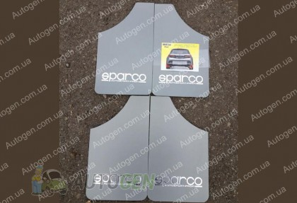 Брызговики универсальные Sparco (4шт) серые
