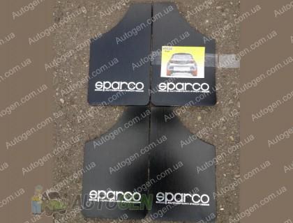 Брызговики универсальные Sparco (4шт) черные