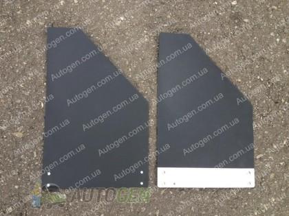 Sparco Брызговики универсальные Racing (2шт) черные с металлом